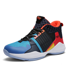Mens Sneakers Basketball Sneakers Jordan-Basketball Shoes Cushioning-Lightweight upper Sneakers Men High-Top bounce Ankle-Boots