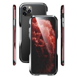 Image 5 - Paraurti in metallo Luphie per iPhone 12 Pro Max 11 custodia SE custodia protettiva in alluminio per iPhone X Xs MAX Xr 7 8 Plus paraurti