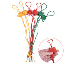 Knots Pendants 2pcs Chinese Knot DIY Chinese Decorative Tassel Fringe Chinese Bow Knots Nylon Thread New Year Gifts(China)