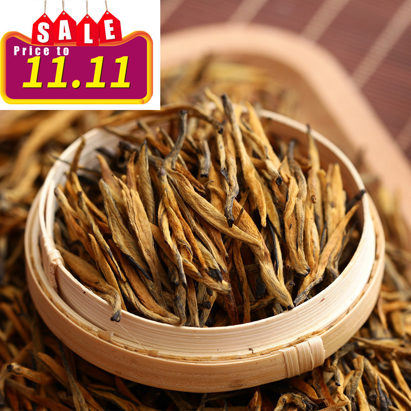 5A 2019 Chinese Yunnan Dian Hong Tea The Premium DianHong Tea Beauty Slimming Diuretic Down Three Green Food Dian Hong Black Tea