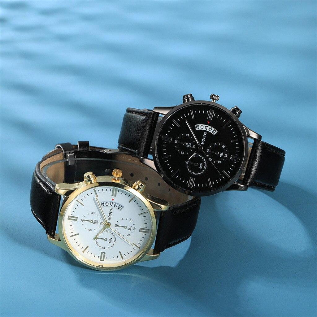Men Luxury Stainless Steel Watch Quartz Business Calendar Wristwatch New relogio masculino curren watch men часы мужские Reloj 3