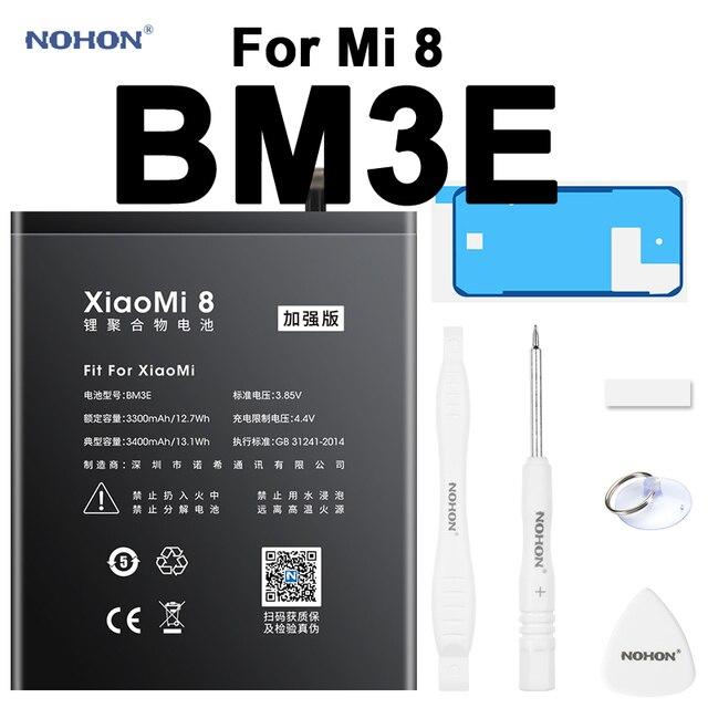 Nohon аккумулятор для Xiaomi Mi 8  1