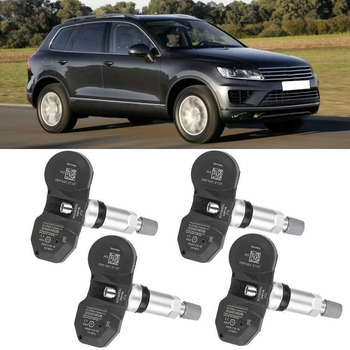 4 PCS Automatically Recognized Tire Pressure Monitoring System Sensor TPMS for Au-di-VW 7PP907275F