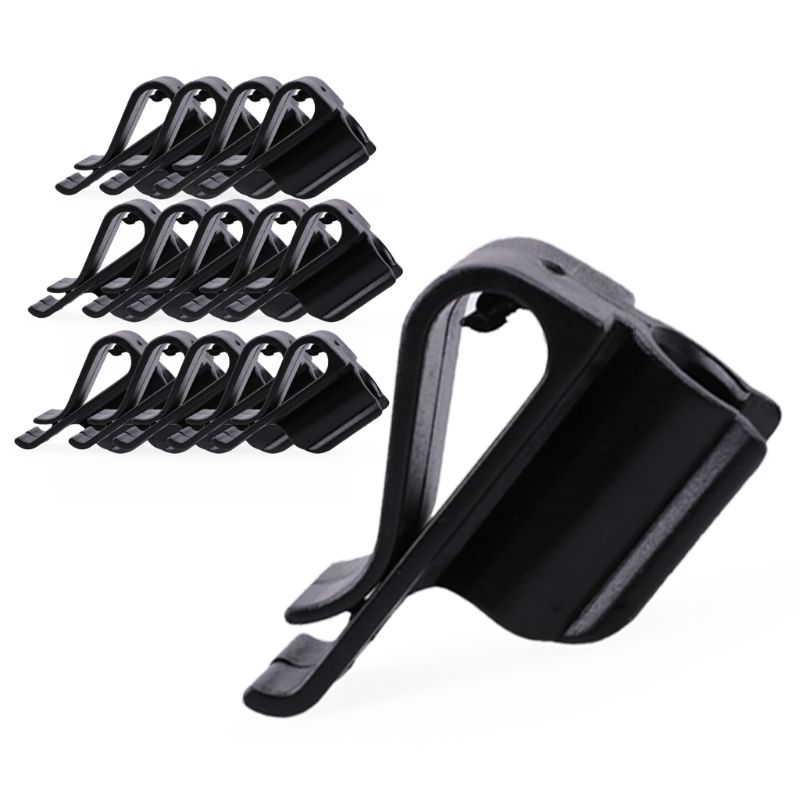 15 Pcs Golf Bag Clip On Putter Clamp Holder Putting Organizer Club Ball Marker
