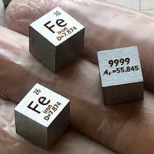 Fe Eisen Metall 10mm Dichte Wrfel 99,99% Hohe Reinheit Element Periodensystem