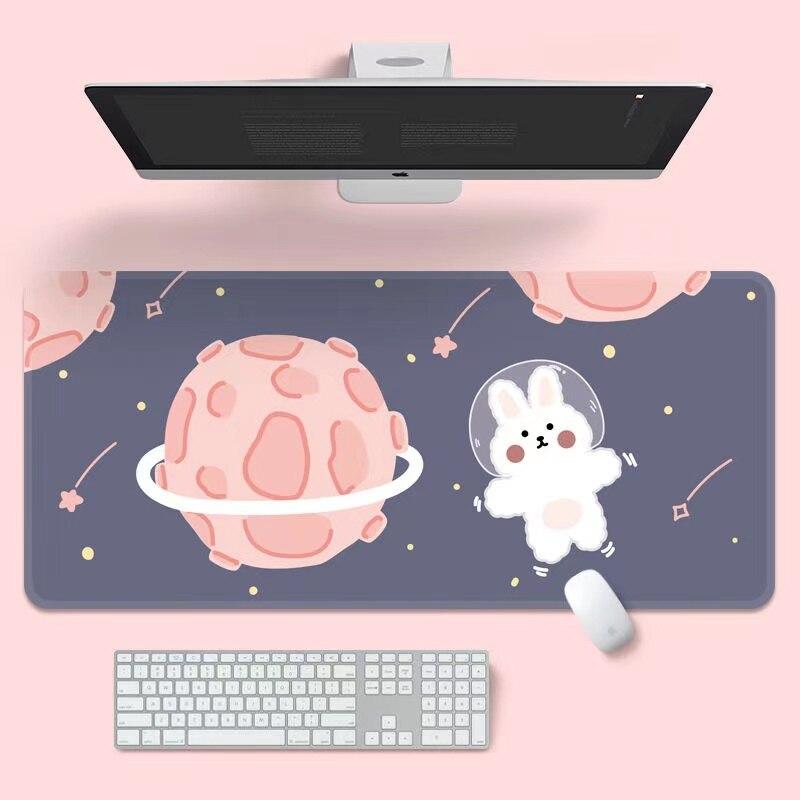 Kawaii Mouse Pad Large Creative Mouse Mat Non-slip Insulation Table Mat Placemat Kawaii Office Supplies for Teen Girls
