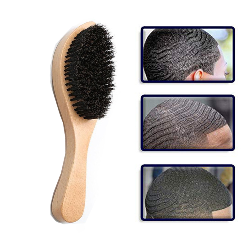 Wave Curly Brush Bristle Hair Bend Comb Solid Wood Hair Comb Tangle Hairdressing Salon