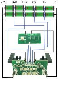 Image 5 - For Dewalt 18V 20V Battery Plastic Case 1.5Ah DCB200 DCB201 DCB203 DCB204 Li ion Battery Cover Parts