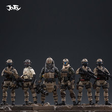 цена на JOYTOY 1:25 action figure soldier UNSC Land cavalry figure Military model collection toys gift Free shipping