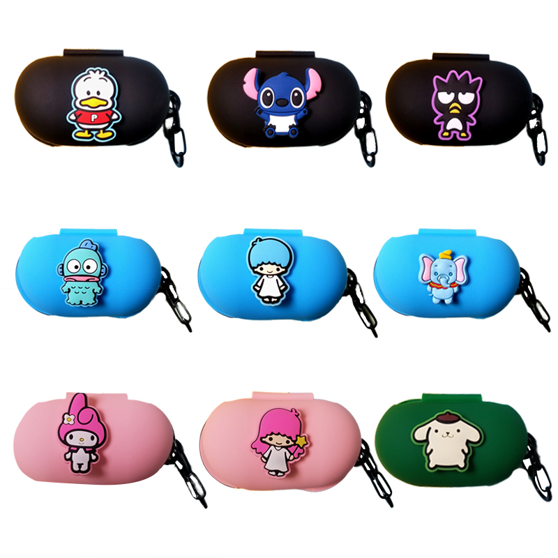 Korean Style Silicon Cover For Samsung Galaxy Buds 2019 Case Charging Sleeve Wireless Headphone Earphone Protective Skin