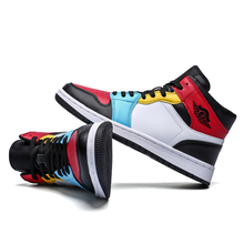 Basketball Shoes Men Air Sports Shoes High Tops Mens Basketball Sneakers Athletics Basket Shoes Chaussures de basket Black shoes cheap pscownlg CN(Origin) Medium(B M) Medium cut Rubber Satin Air Sole Lace-Up Spring2019 Fits true to size take your normal size