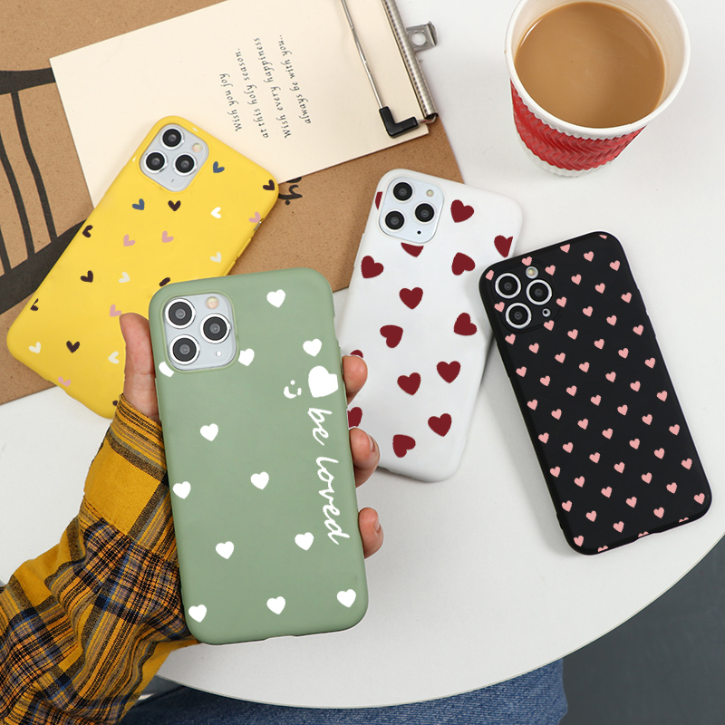 Lovers Color Coque Soft Phone Case For iPhone 7Plus X XR 10 6 6S 7 8 Plus 5 5S SE 2020 XS Back Cover For iPhone 11 Pro Max Case