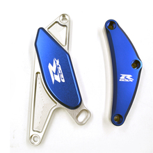 цена на For SUZUKI GSXR750 GSXR600 GSXR 600 750 2006-2012 2007 2008 CNC POM Frame Slider Crash Pad Engine Stator Case Saver Protector