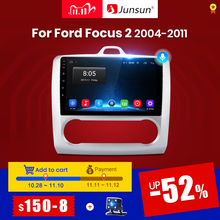 Junsun V1 2G+32G Android 10.0 DSP For ford focus 2 Mk2 2004 2011 Car Radio Multimedia Video Player Navigation GPS RDS 2 din dvd