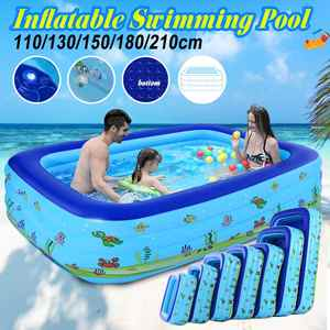 Inflatable-Pool Baby Kids Home-Use Large-Size for Non-Toxic And Durable 180/210 Square