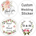 100, 3-7 cm, transparent / kraft paper / white sticker, wedding custom, sticker, custom gift sticker, name sticker, LOGO sticker
