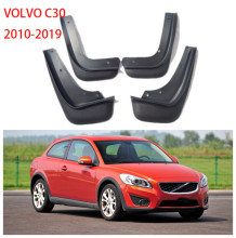 For 2010-2019 VOLVO C30  Mudguards Mudflaps Car Fenders Splash Guards Mud-Flaps 4Pcs/Set