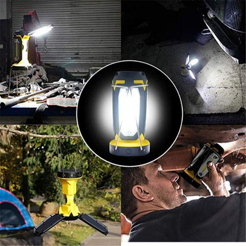 COB Portable Lantern Tent Lamp USB Rechargeable Ultra Bright Led Lightweight Camping Lanterns Light For Working Hiking Camping 6