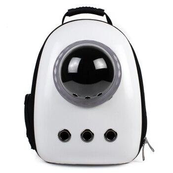 Space Pet Cabin Backpack Portable Out Shoulder Bag Cat Cat Bag Cage with Dog Cat   Harness Backpack  Pet Carrier Shoulder Bag