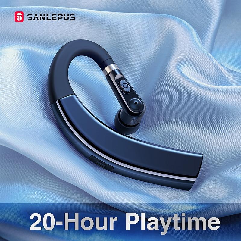 SANLEPUS M11 Bluetooth Earphone Wireless Headphone Handsfree Earbud Headset With HD Microphone For Phone IPhone Xiaomi Samsung