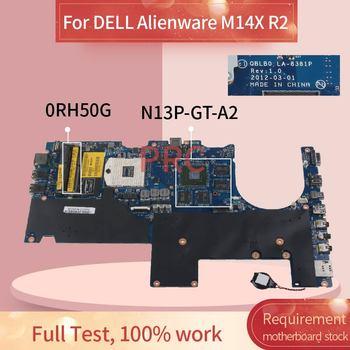 CN-0RH50G 0RH50G portátil placa base para DELL Alienware M14X R2 placa madre...
