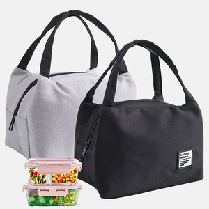 HOT Fashion Portable Insulated Canvas lunch Bag for Women kids Men Thermal Food Picnic Lunch Bags Cooler Lunch Box Bag Tote#T2|Lunch Boxes|   -