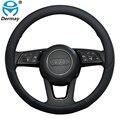 100% DERMAY брендовая кожаная Спортивная фотопленка для Audi A1 8X A2 A3 A4 A5 A6 Avant автомобильные аксессуары