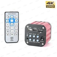 1080P 4K UHD C mount Video Microscope Camera  SONY IMX177 Digital Industrial Electronic  USB HDMI Camera