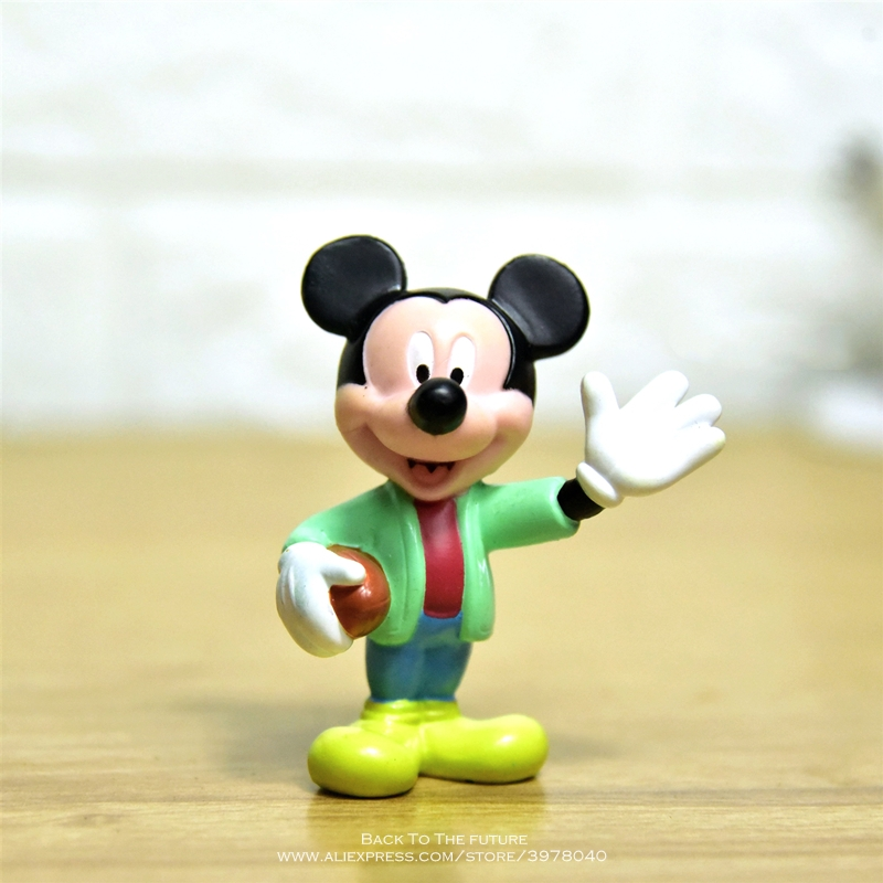 Disney Mickey Mouse 6cm Mini Doll Action Figure Anime Decoration Collection Figurine Toy Model For Children Gift