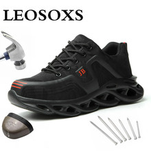 Work-Shoes Nose-Safety Puncture-Proof Construction Ultra-Light Steel Anti-Static Outdoor