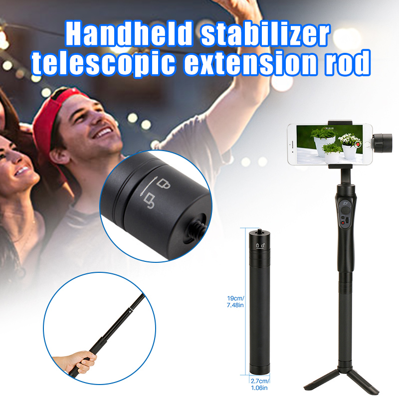 Extension Pole Telescopic Rod Tripod for Camera Phone Handheld Gimbal Stabilizer JHP-Best image