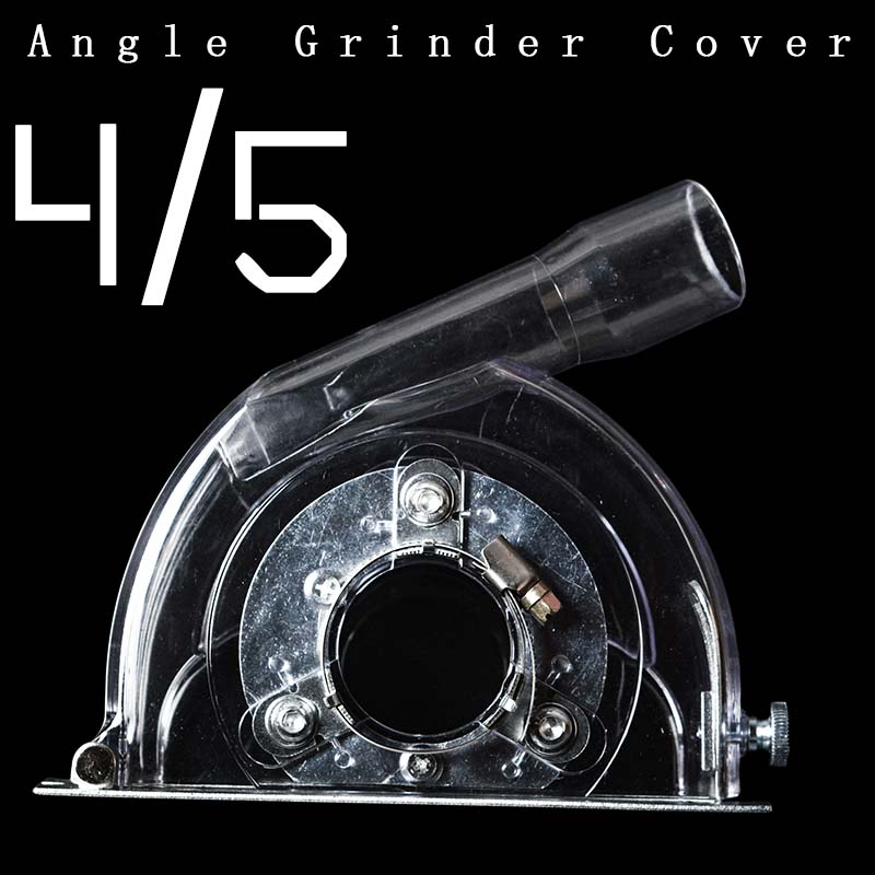 1Pes Angle Grinder Cutting Dust Cover Transparent Grinding Dust Cover For 4  5 Inch Angle Grinder