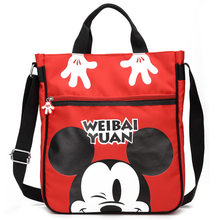 Disney new cartoon Cute Mickey kindergartenDiaper bag boy girl travel messenger bag children outdoor Shoulder bag school bag(China)