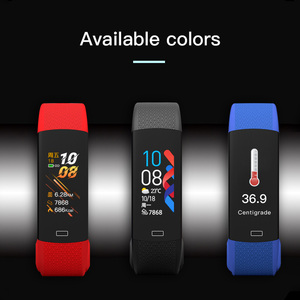 Image 2 - 2020 New Body Temperature Smart Band Men Women SmartBand Fitness Tracker Heart Rate Monitor Bracelet For Andriod IOS  Wristband
