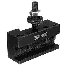 Juego de herramientas de cambio rápido, soporte de Material de acero, 2 piezas, 250 - 001 0Xa, 1 # soporte