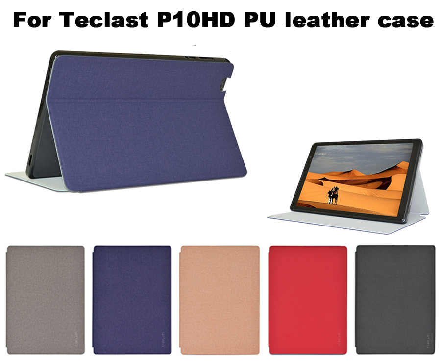 """For Teclast P10HD Fashion Case Flip Stand PU Leather Case For 10.1"""""""