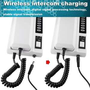 Extendable Intercom-System Handsets Voip Office Home-Phone Secure Wireless for Warehouse
