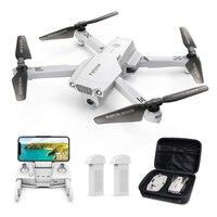 Dron plegable D65 con cámara 4K UHD, cuadricóptero con GPS, FPV, Control de gestos, retorno automático, helicóptero de largo tiempo de vuelo