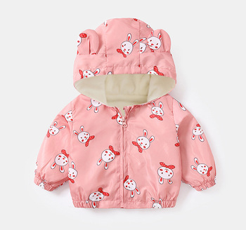 LZH 2020 Autumn Winter Newborn Baby Clothes For Baby Boys Jacket Baby Dinosaur Print Outerwear Coat For Infant Baby Girls Jacket 13