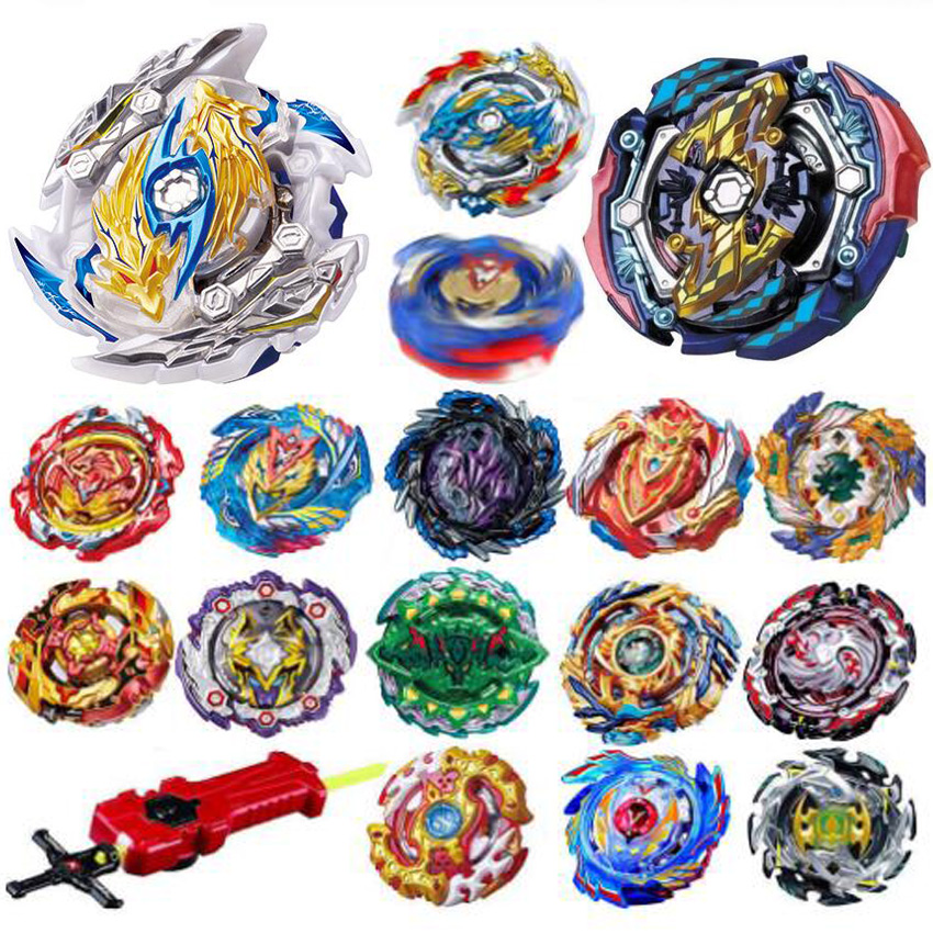New Funny Joy <font><b>B</b></font>-140 <font><b>Beyblade</b></font> <font><b>Burst</b></font> Starter Bey Blade Blades Metal Fusion Bayblade With Launcher High Performance Battling Top image
