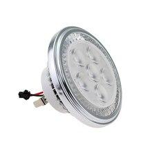 Бесплатная доставка светодиодный светильник AR111 G53 Встроенный светодиодный светильник из алюминиевого сплава для внутреннего освещения