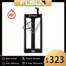 3D 프린터 Flsun QQ S PRO Delta Kossel 자동 레벨 업그레이드 된 이력서 사전 조립 TFT 32 비트 보드 impressora 3d Drucker