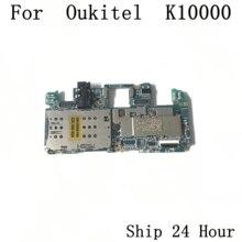Oukitel K10000 б/у материнская плата 2G ram + 16G rom материнская плата для Oukitel K10000 5,5 дюймов MT6735 четырехъядерный Бесплатная доставка