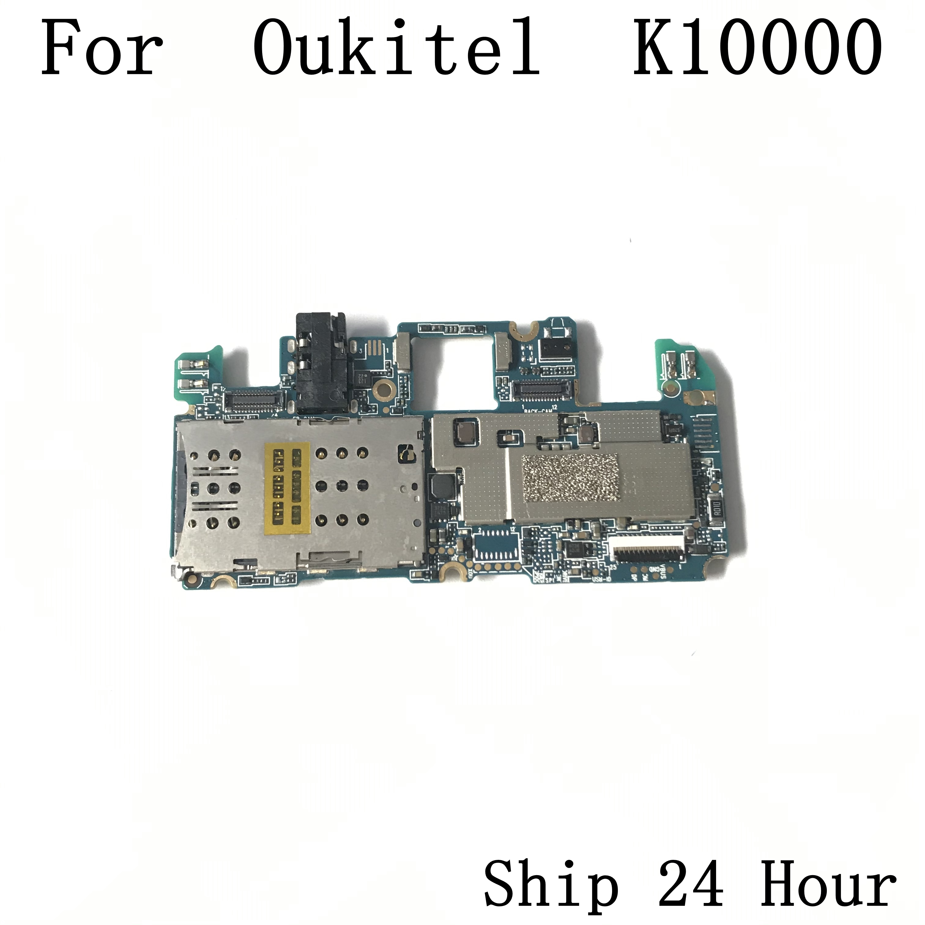 Oukitel K10000 Used Mainboard 2G RAM+16G ROM Motherboard For Oukitel K10000 5.5inch MT6735 Quad Core Free Shipping
