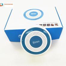 Мини-сигнализация, рупорный стробоскопический Датчик 433 МГц, беспроводная Стробоскопическая сирена для GSM, Автономная гостиничная домашняя Панель сигнализации