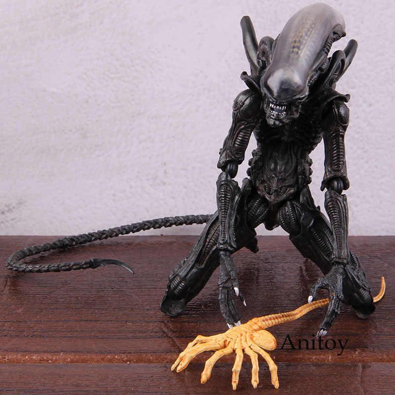 AVP Alien Vs Predator Action Figure SP-108 Alien Takayuki Takeya Ver. PVC Collectible Model Mainan