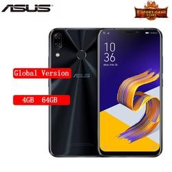Перейти на Алиэкспресс и купить original global version asus zenfone 5 ze620kl smartphone 4/64gb 6.2дюйм. 19:9 fhd+ snapdragon 636 3300mah nfc ota update