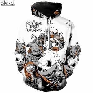 Рождественская футболка Jack Skellington с 3D принтом «Кошмар перед», Толстовка для женщин и мужчин, толстовка на молнии, пальто, повседневные штаны,...