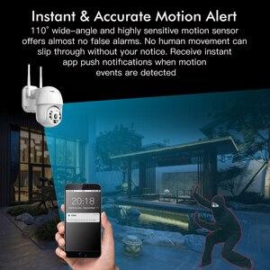 Image 5 - FEISDA Wifi Wireless CCTV 1080P Full HD ONVIF PTZ telecamera di sicurezza rilevazione di azione esterna apparecchiature di controllo impermeabili
