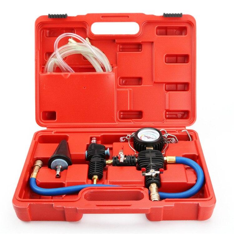 Auto Car Radiator Cooling Antifreeze Replacement Tool Kit Vacuum Pump Coolant System Antifreeze Injector